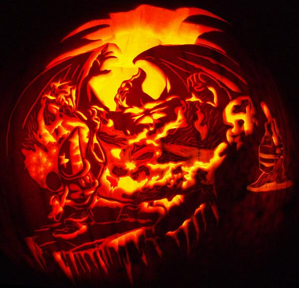 mickey mouse disney pumpkin 25 Mind Blowing Halloween Pumpkins