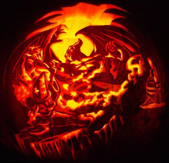 mickey mouse disney pumpkin 25 Mind Blowing Halloween Pumpkins