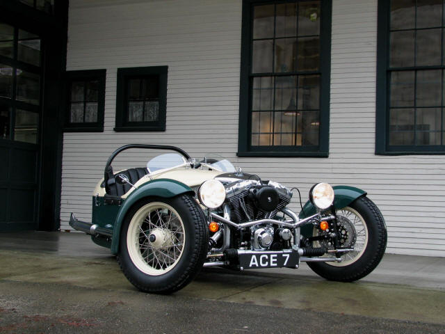 Morgan Three Wheeler For Sale >> Vintage Cool: ACE Cycle-Car Rebuilds the Morgan Three-Wheeler Trike «TwistedSifter