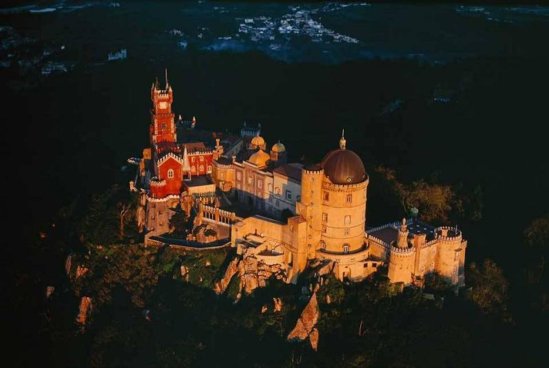 pena portugal aerial yann arthus bertrand The Incredible Aerial Photography of Yann Arthus Bertrand [25 pics]