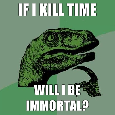 philosoraptor immortality 20 Burning Questions with the Famous Philosoraptor