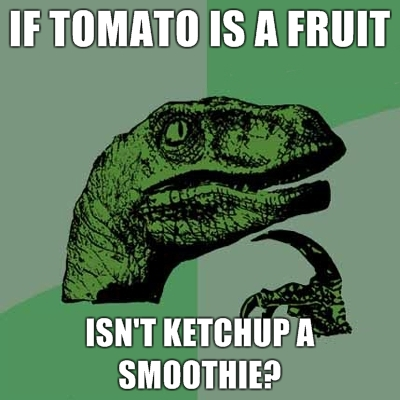 philosoraptor ketchup smoothie 20 Burning Questions with the Famous Philosoraptor