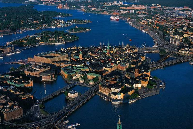 stockholm sweden aerial yann arthus bertrand The Incredible Aerial Photography of Yann Arthus Bertrand [25 pics]