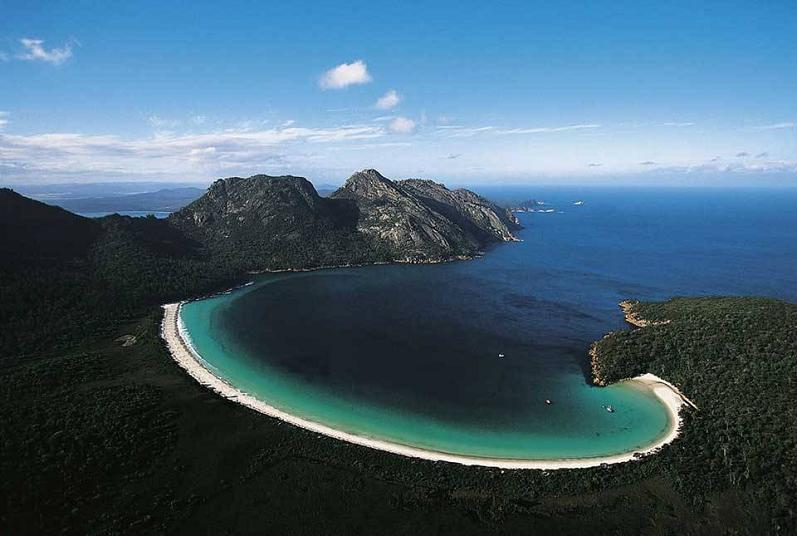 tasmania australia aerial yann arthus bertrand Natures Fury: 30 Chilling Photos of Natural Hazards