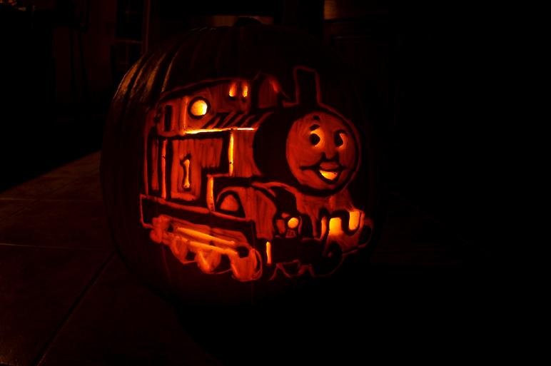 thomas the train pumpkin carving 25 Mind Blowing Halloween Pumpkins