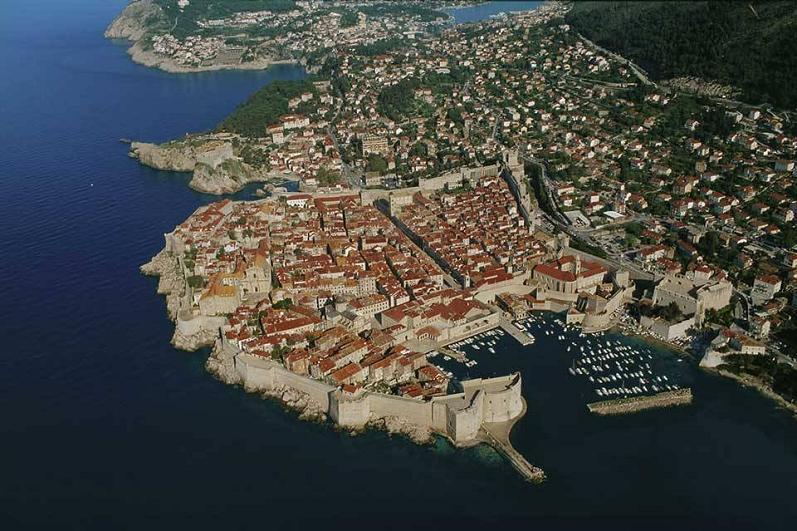 amurallada ciudad de Dubrovnik-Croacia-Yann-Arthus-Bertrand