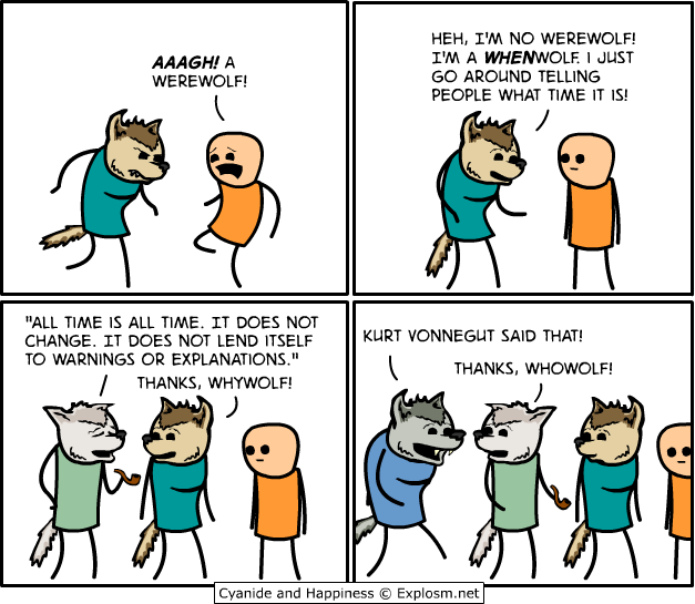 Werewolves [Comic Strip]