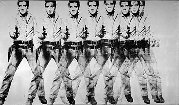 andy warhol eight elvises 10 Most Expensive Paintings Sold in the 21st Century