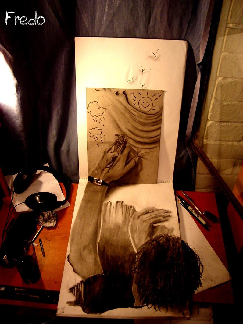 artist fredo 3d drawings illustrations art 20 Unbelievable 3D Drawings by 17 year old Fredo [25 pics]