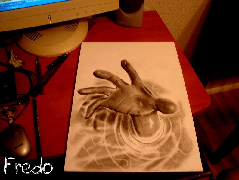 artist fredo 3d drawings illustrations art 25 Unbelievable 3D Drawings by 17 year old Fredo [25 pics]