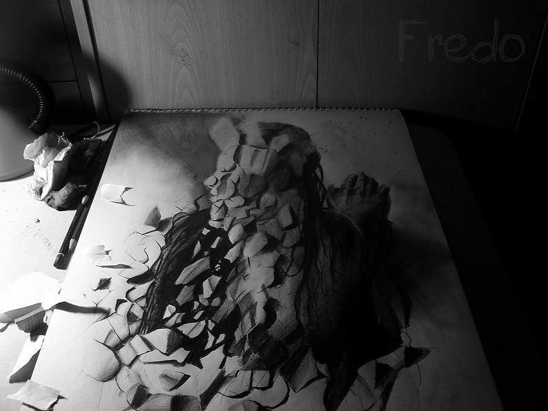 artist fredo 3d drawings illustrations art 7 Unbelievable 3D Drawings by 17 year old Fredo [25 pics]