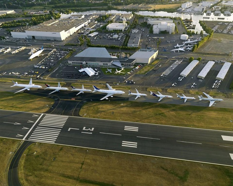Picture of the Day: Boeing 7 Series Lineup