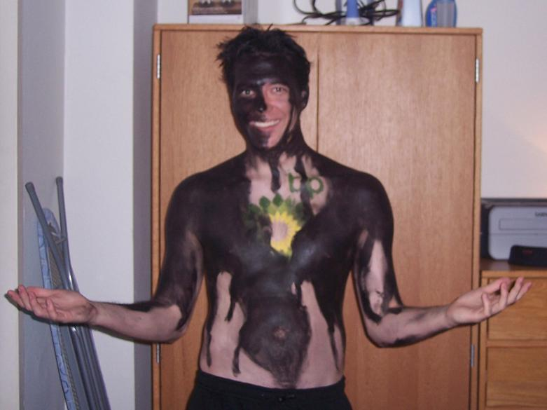 bp oil spill funny halloween costume 25 Hilarious Halloween Costumes