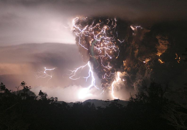 chaiten volcano Natures Fury: 30 Chilling Photos of Natural Hazards