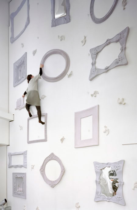 coolest climbing wall japan weird objects Picture of the Day: Worlds Coolest Climbing Wall | Nov 16, 2010