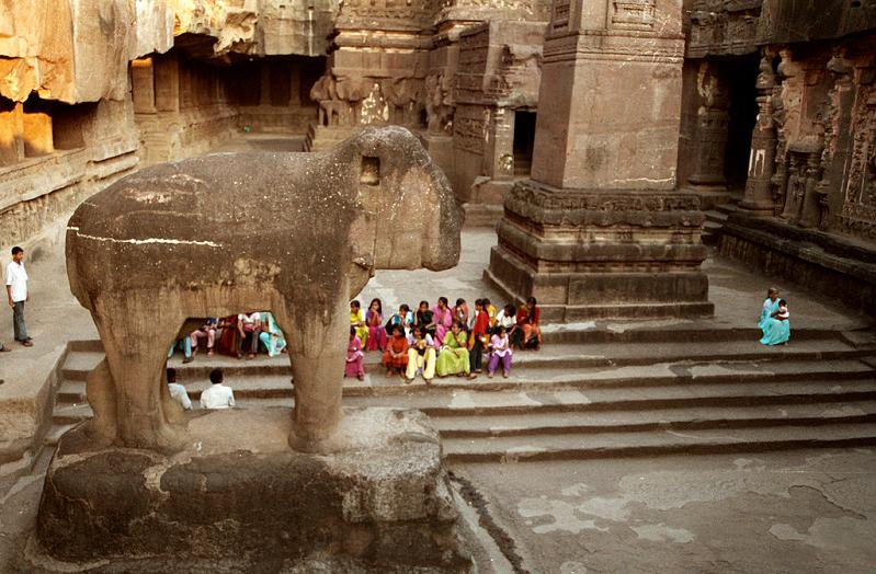ellora caves india mountain temples 11 The Ellora Caves: Cliff Temples of India [25 pics]
