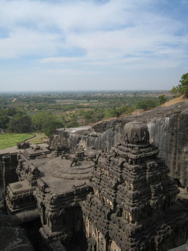 ellora caves india mountain temples 12 The Ellora Caves: Cliff Temples of India [25 pics]