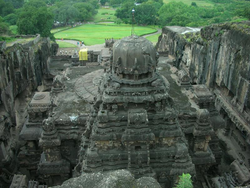 ellora caves india mountain temples 18 The Ellora Caves: Cliff Temples of India [25 pics]