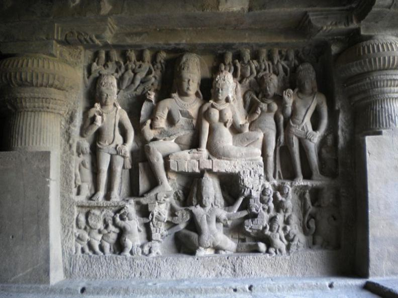 ellora caves india mountain temples 2 The Ellora Caves: Cliff Temples of India [25 pics]