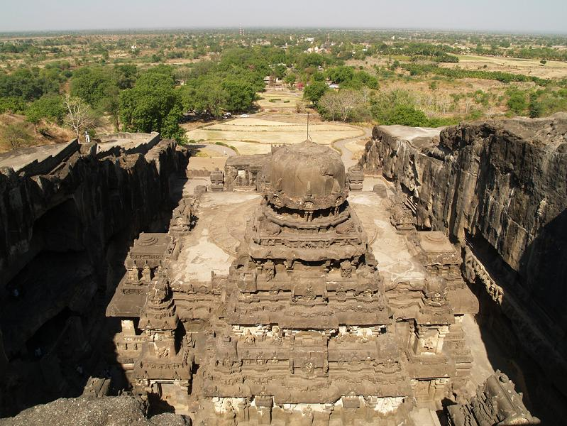 ellora caves india mountain temples 24 The Ellora Caves: Cliff Temples of India [25 pics]