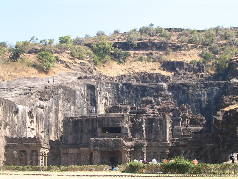 ellora caves india mountain temples 9 The Ellora Caves: Cliff Temples of India [25 pics]
