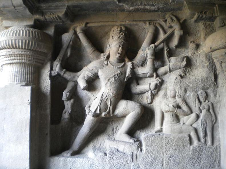 ellora caves india mountain temples The Ellora Caves: Cliff Temples of India [25 pics]