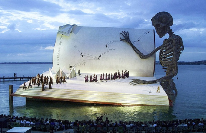 Picture of the Day: Coolest. Stage. Ever.