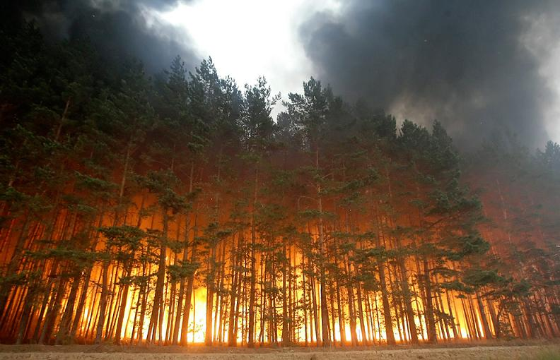 forest fire in russia 2010 Natures Fury: 30 Chilling Photos of Natural Hazards