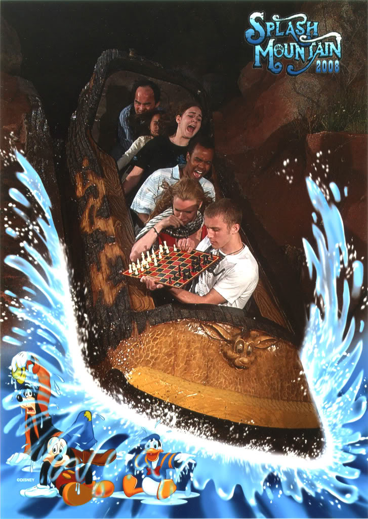 funny splash mountain extreme checkers 21 Hilarious Pics of Terrified People at Nightmares Fear Factory