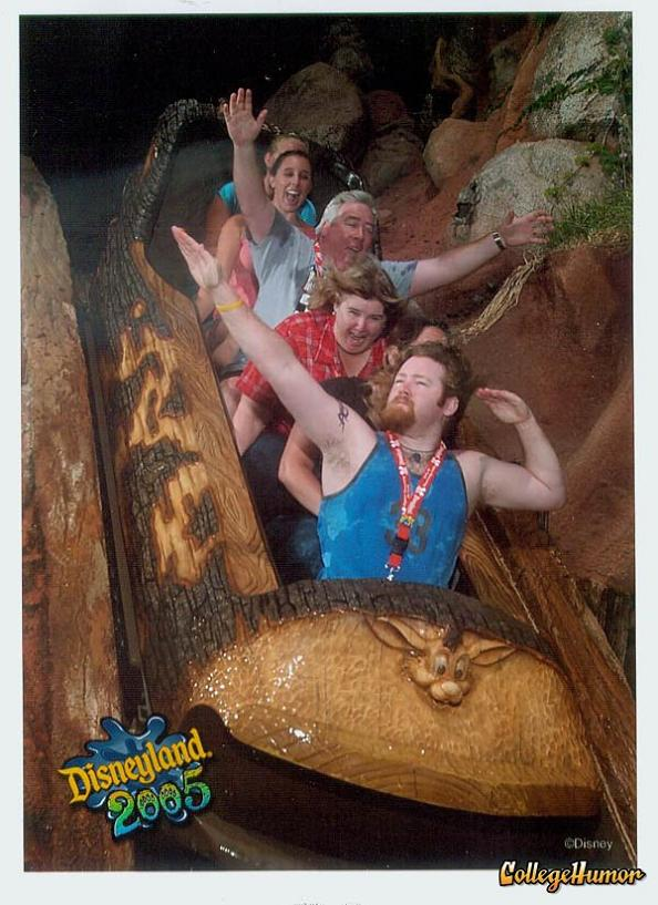funny splash mountain pose 21 Hilarious Pics from Disney Worlds Splash Mountain