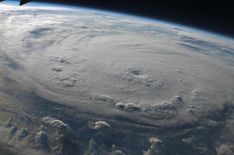 hurricane felix from space Natures Fury: 30 Chilling Photos of Natural Hazards
