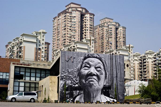 jr street art big photographs 2011 ted prize winner 18 2011 TED Prize Winner: Street Artist JR [40 pics]