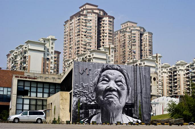 jr street art big photographs 2011 ted prize winner 18 2011 TED Prize Winner: Street Artist JR [40 pics]