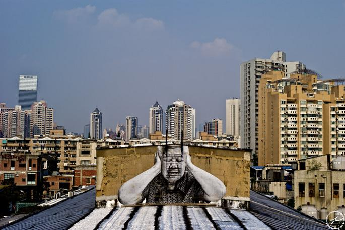 jr street art big photographs 2011 ted prize winner 19 2011 TED Prize Winner: Street Artist JR [40 pics]