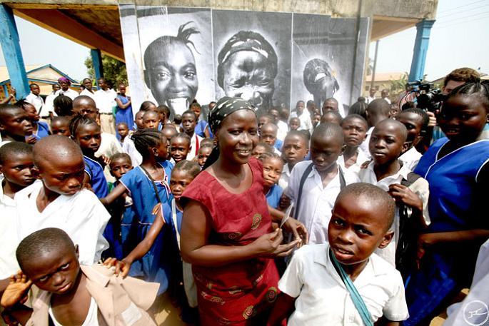 jr street art big photographs 2011 ted prize winner 21 2011 TED Prize Winner: Street Artist JR [40 pics]