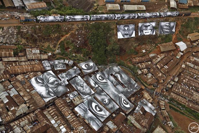 2011 TED Prize Winner: Street Artist 'JR' [40pics]