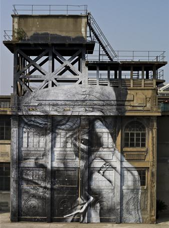 jr street art big photographs 2011 ted prize winner 7 2011 TED Prize Winner: Street Artist JR [40 pics]