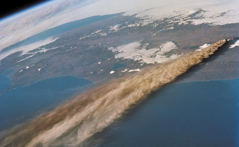 kliuchevskoi volcano Natures Fury: 30 Chilling Photos of Natural Hazards