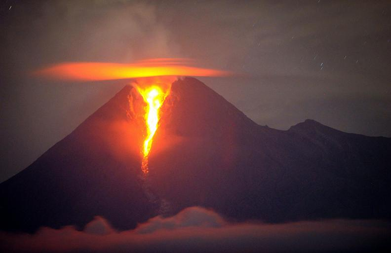 mount merapi volcano Natures Fury: 30 Chilling Photos of Natural Hazards