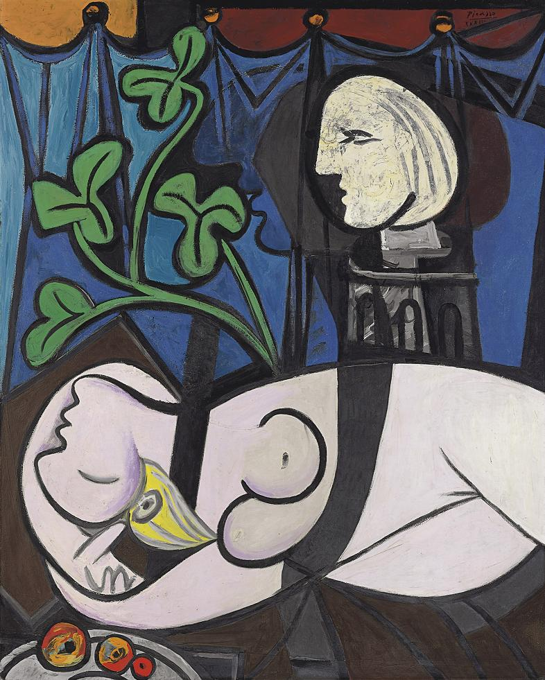 picasso nude green leaves and bust 10 Most Expensive Paintings Sold in the 21st Century