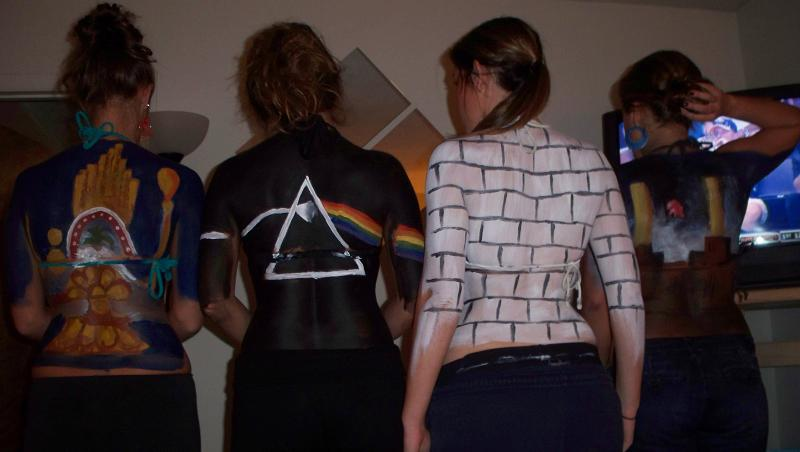 pink floyd album covers funny halloween costume 25 Hilarious Halloween Costumes