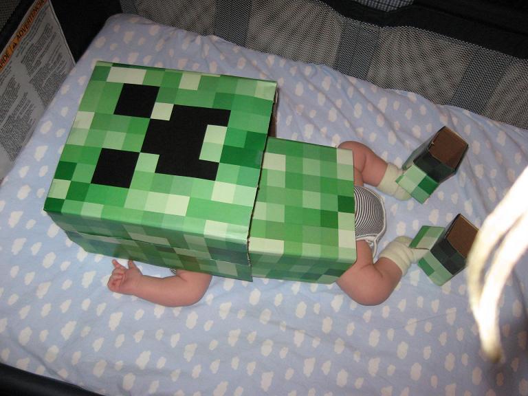 pixel kid funny halloween costume 25 Hilarious Halloween Costumes