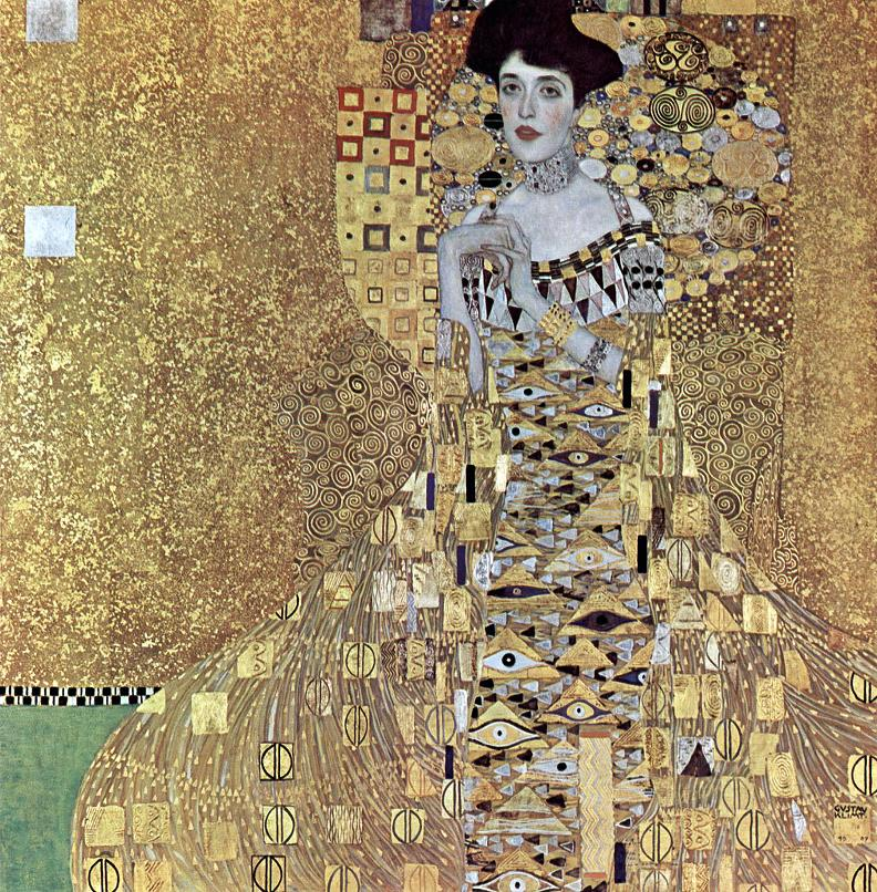 portrait of adele bloch bauer i gustav klimt 10 Most Expensive Paintings Sold in the 21st Century
