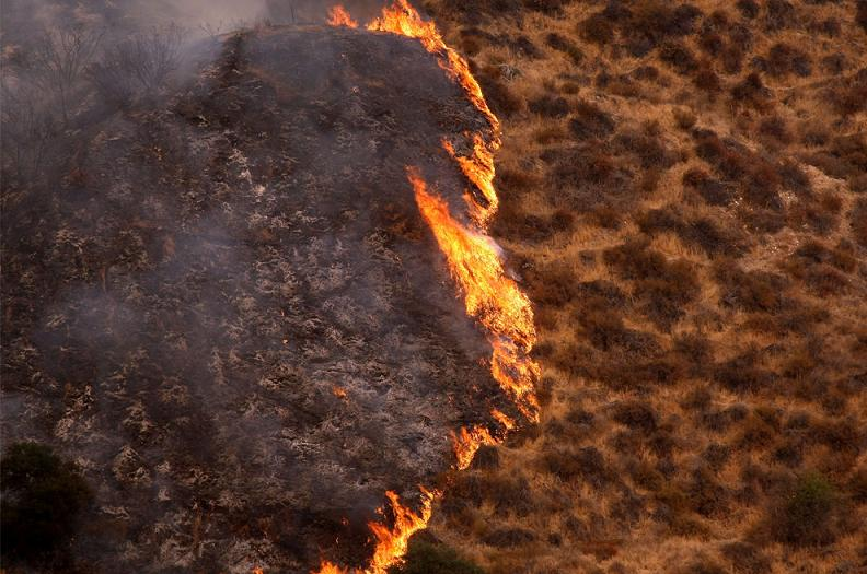station fire 2 Natures Fury: 30 Chilling Photos of Natural Hazards