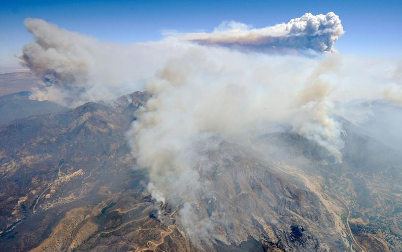 station fire los angeles california Natures Fury: 30 Chilling Photos of Natural Hazards