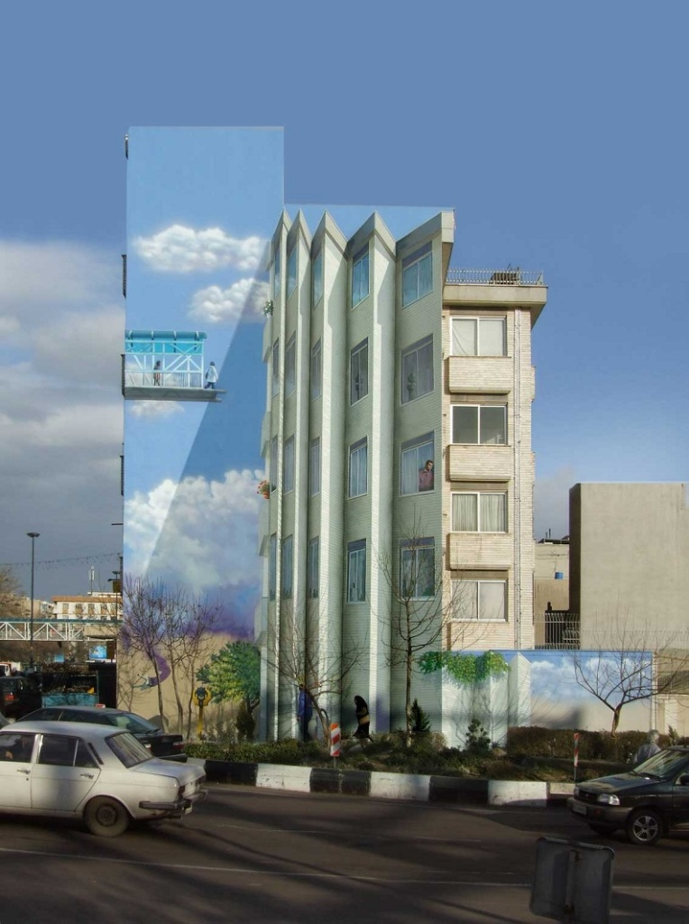 Picture of the Day: Street Art in Tehran, Iran