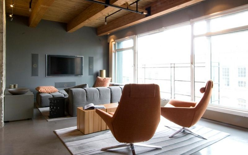 yaletown loft vancouver kelly reynolds interior design 16 Beautiful Interior Design by Kelly Reynolds   1000 sq ft Loft