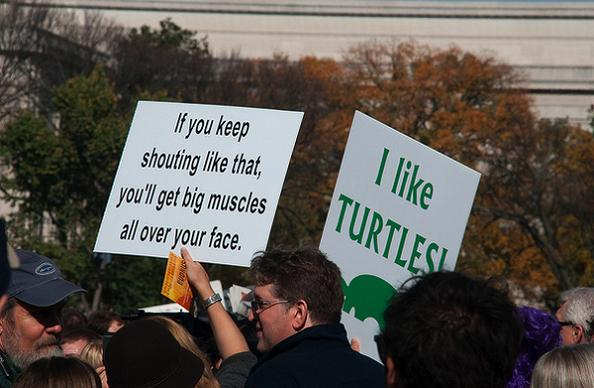 25 funniest protest signs of 2010 171twistedsifter