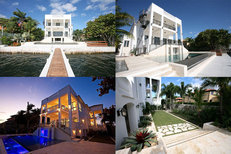 lebron james new house in miami Lebron James $9 Million House in Miami