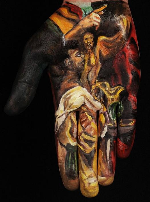 museum anatomy chadwick and spector body painting classic art 20 Museum Anatomy: Body Painting by Chadwick & Spector